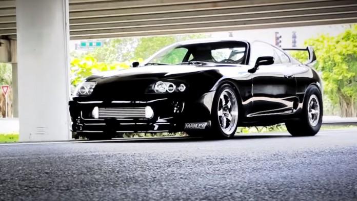 Supra Vs Mustang
