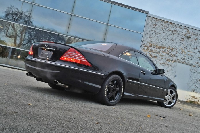 tuned Mercedes CL 4