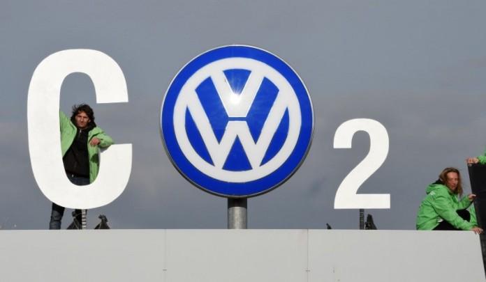 vw logo co2 volkswagen