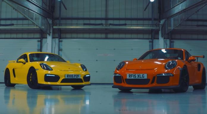 Cayman GT4 Vs 911 GT3 RS