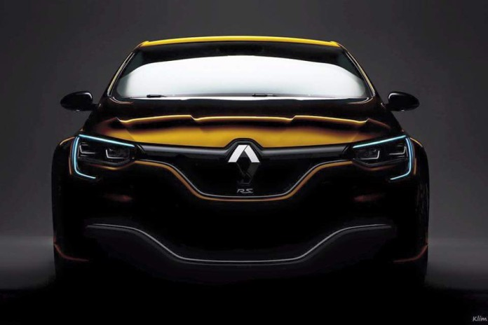 Renault Megane RS teaser (1)