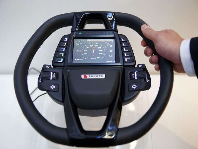 takata steering wheel