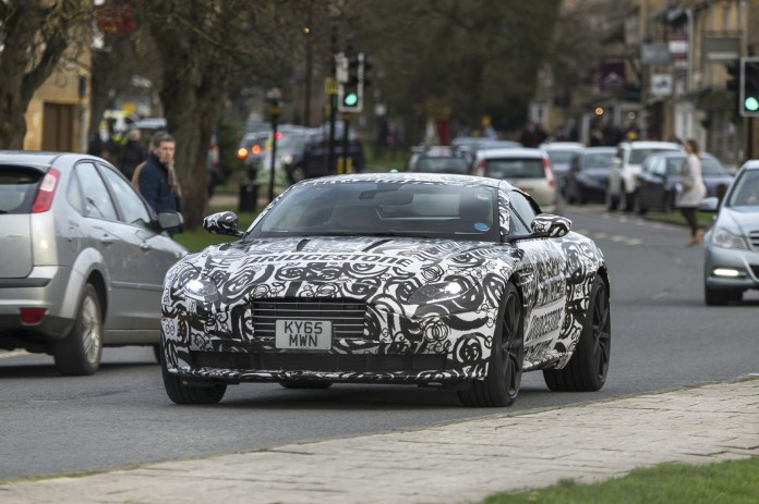 Aston Martin DB11 spy photos (3)