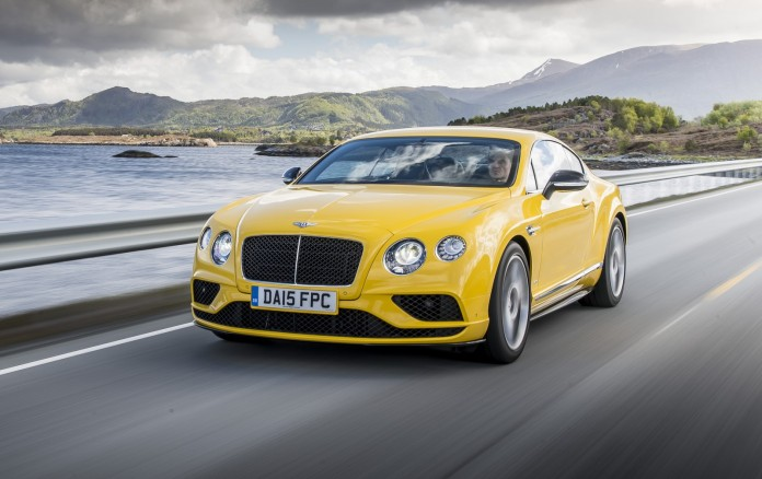 Bentley Continental GT launch, Norway, June 2015 Photo: James Lipman / jameslipman.com