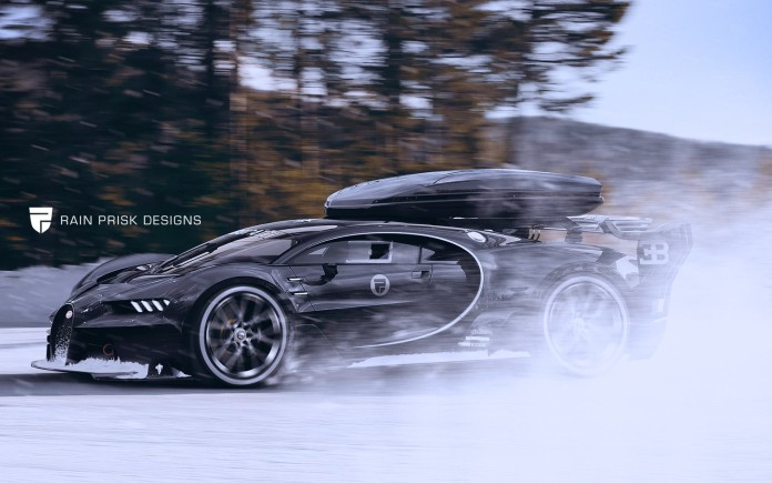 Bugatti Chiron Shooting-Brake-renderings