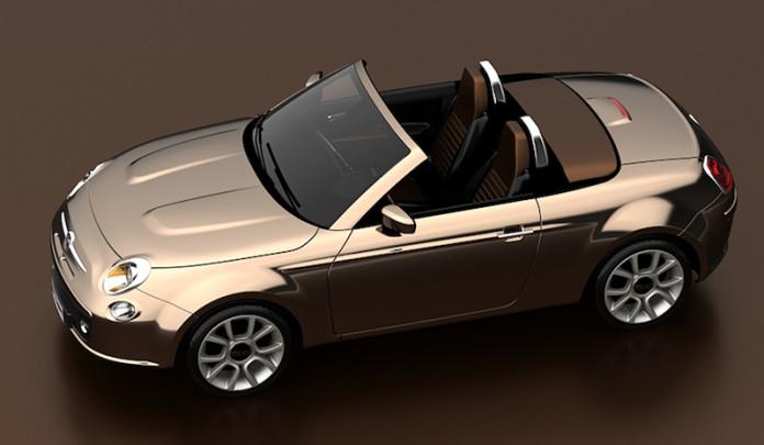 Fiat 500 Coupe Spider concept (1)