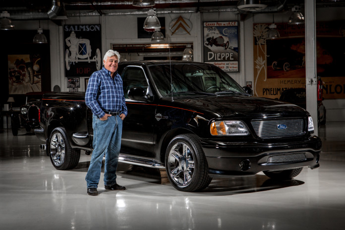 Ford Motor Company and Jay Leno, renowned auto enthusiast and star of Jay Leno's Garage, are teaming up to auction the TV legend's personal one-of-one 2000 Harley-Davidson F-150 at the 45th Anniversary Barrett-Jackson Scottsdale Auction at WestWorld of Scottsdale.