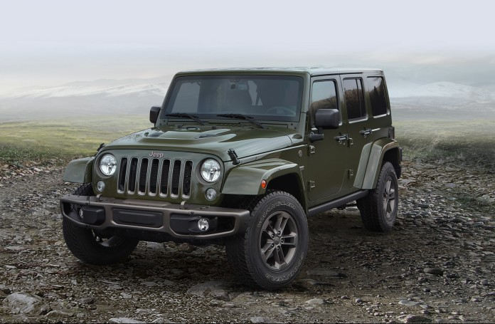 2016 Jeep® Wrangler Unlimited 75th Anniversary edition
