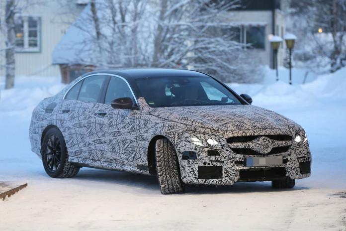 Mercedes-AMG E63 spy photos (1)