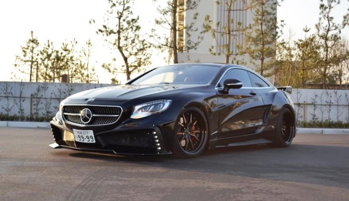 Mercedes S-class Coupe by VITT (1)