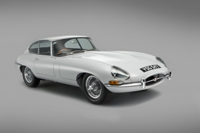 Jaguar E-Type restoration (1)