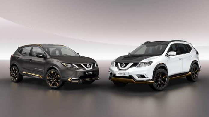 Nissan Qashqai and X-Trail Premium Concepts (1)