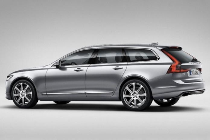 Volvo V90 leaked photos (2)