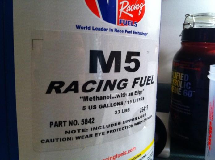 racing fuel methanol