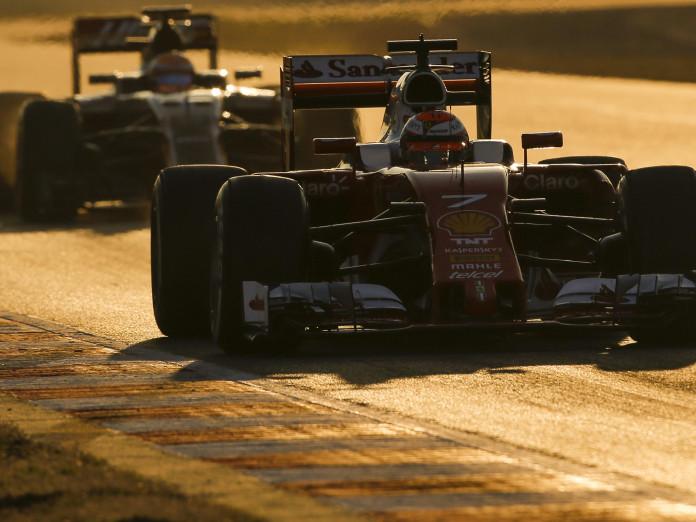 Kimi Raikkonen (FIN) Ferrari SF16-H at Formula One Testing, Day Three, Barcelona, Spain, Wednesday 24 February 2016.