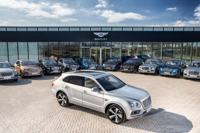 Bentley Bentayga First Edition Collection