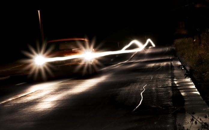 Headlights-at-Night