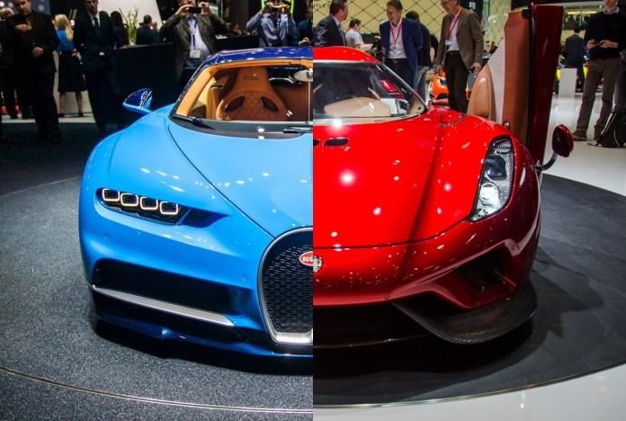 Koenigsegg-Regera vs Bugatti Chiron