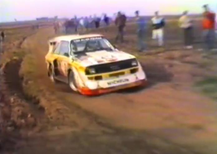Semperit Rallye Audi S1 1985