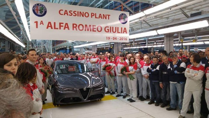 Alfa Romeo Giulia production begins (1)