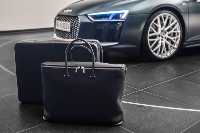 Audi R8 leather Luggages (7)