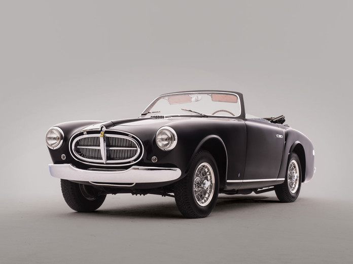 Ferrari 212 Inter Cabriolet by Vignale auction 1