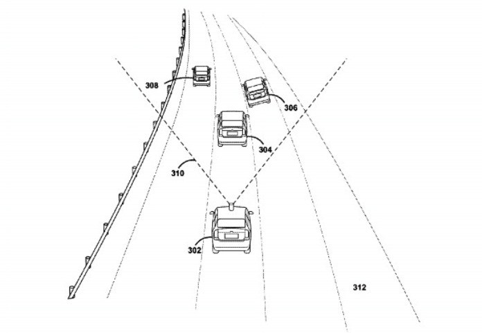 Google patents turn signal detector for autonomous cars