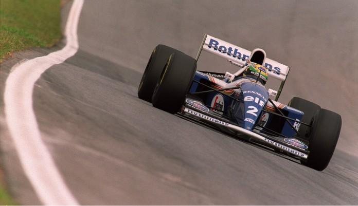 F1 BRAZIL SENNA