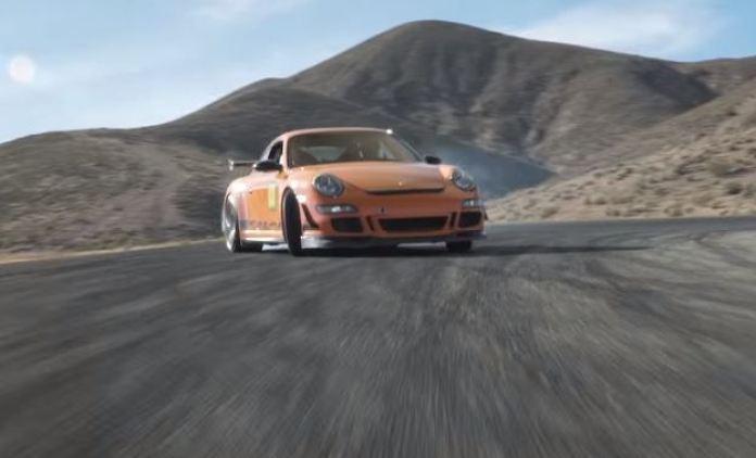 911 gt3 rs drift