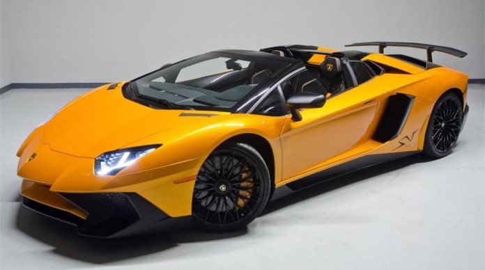 Lamborghini Aventador SV Roadster for sale (1)