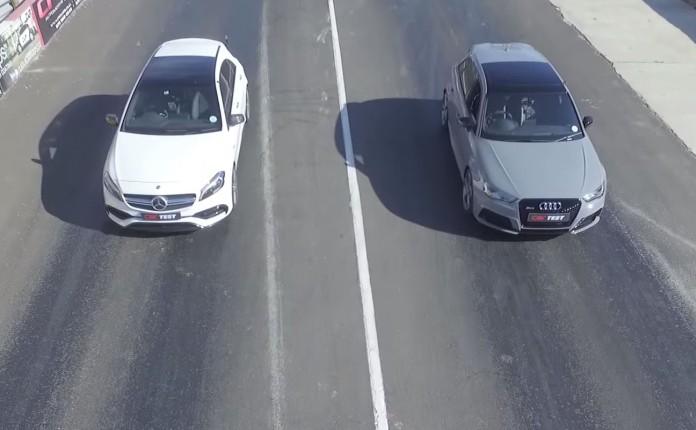 Mercedes-AMG A 45 Vs Audi RS 3