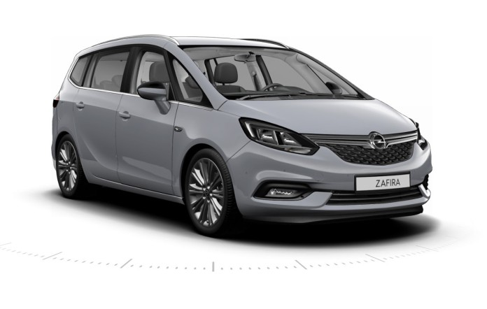 Opel Zafira facelift 2017 leaked photos (1)