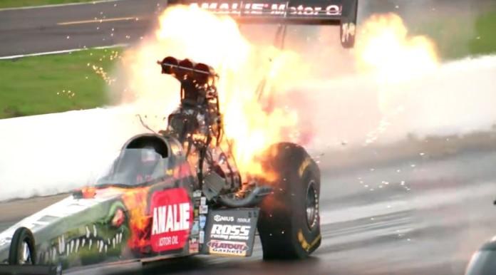 Top Fuel Explosion