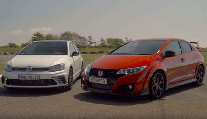 VW Golf GTI Clubsport Vs Honda Civic Type R
