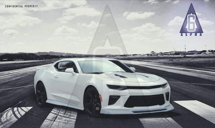 Chevrolet Camaro by Alpha Six Designs (1)