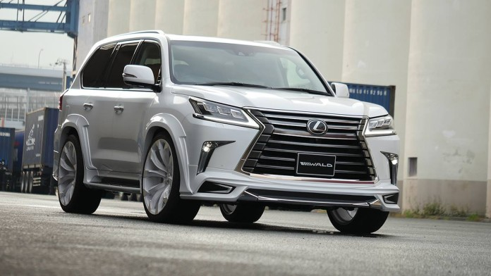 Lexus LX Sporty Kit by Wald International (1)