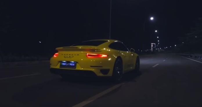 Porsche 911 Turbo S Armytrix