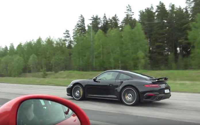 Porsche 911 Turbo S Vs 911 GT3 RS