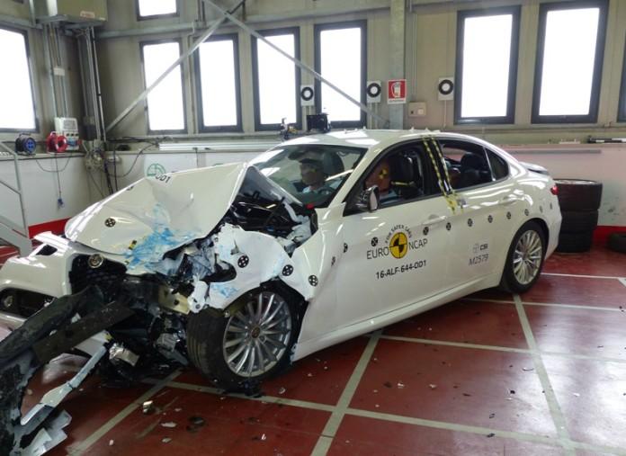 alfa romeo giulia crash test euro ncap