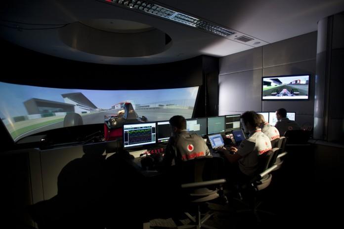 mclaren simulator