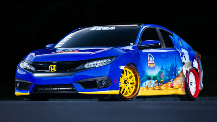2016 Honda Civic Sonic the Hedgehog Special Edition (1)