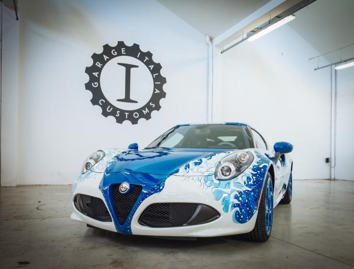 Alfa Romeo 4C Hokusai by Garage Italia Customs (6)
