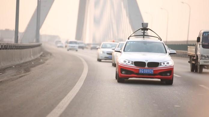 Baidu autonomous