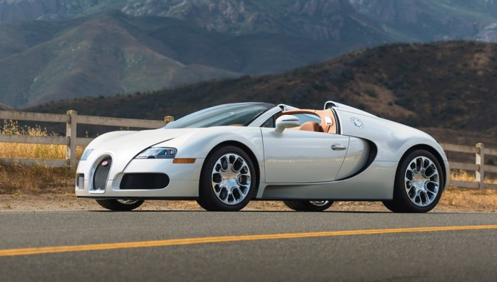Bugatti Veyron Grand Sport Auction