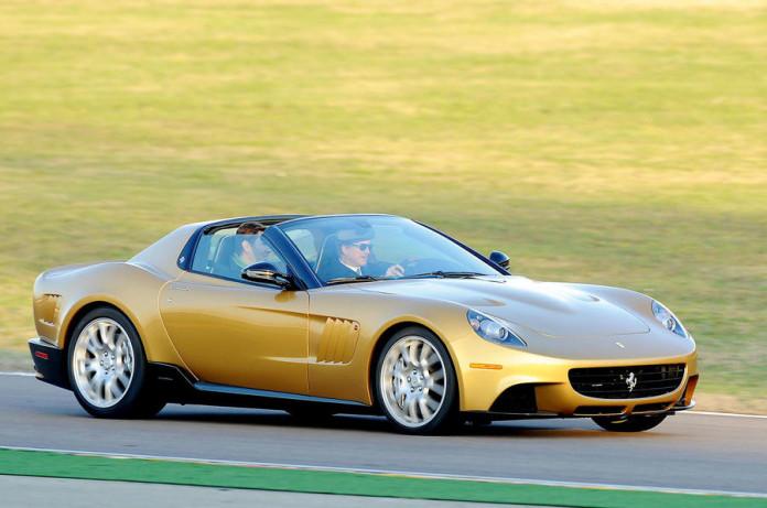 sp3 in pista fiorano durante la consegna al cliente 10-12-2009 ph.luca toni/lapresse 2009 © Ferrari S.p.A.