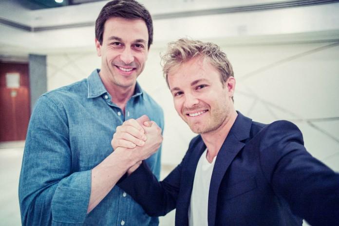 Nico Rosberg, Toto Wolf, MERCEDES AMG PETRONAS, F1 ; Nico Rosberg, Toto Wolf, MERCEDES AMG PETRONAS, F1;