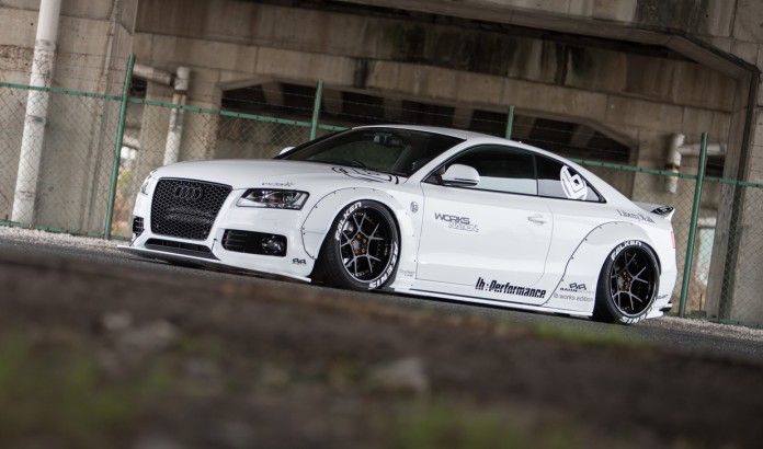 Audi A5 by Liberty Walk (2)
