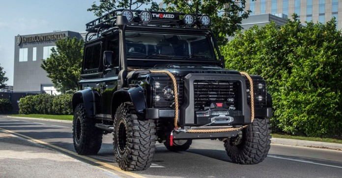 Land Rover Defender Spectre Edition by Tweaked Automotive (1)
