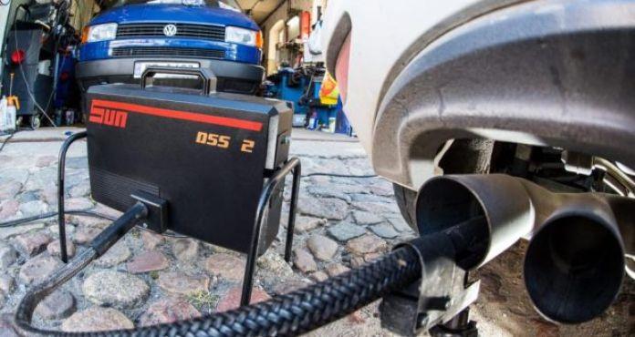 VW diesel test