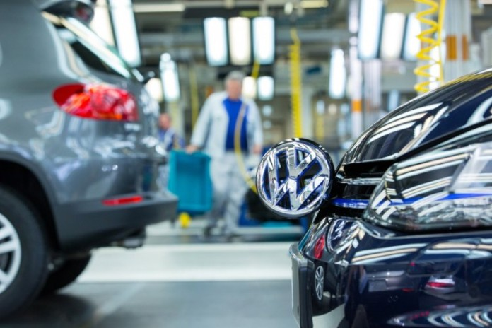 vw volkswagen golf plant factory